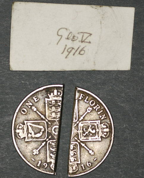 George V. Florin. 1916 counterfeit