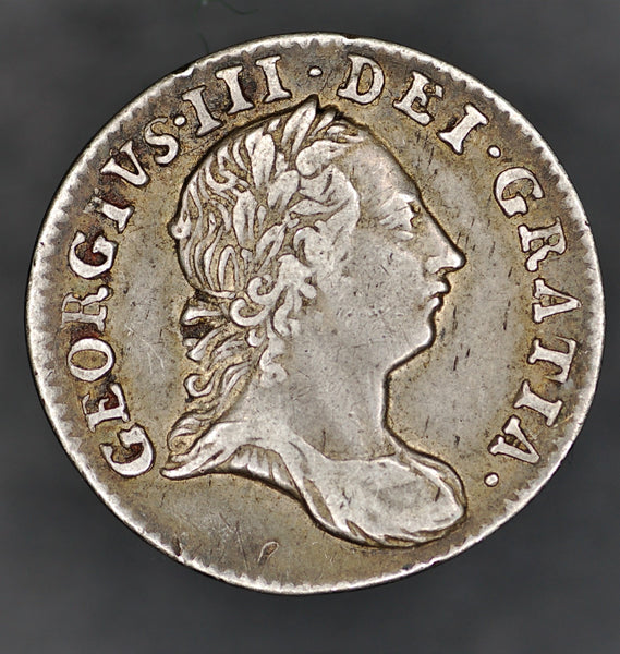 George III. Threepence. 1763