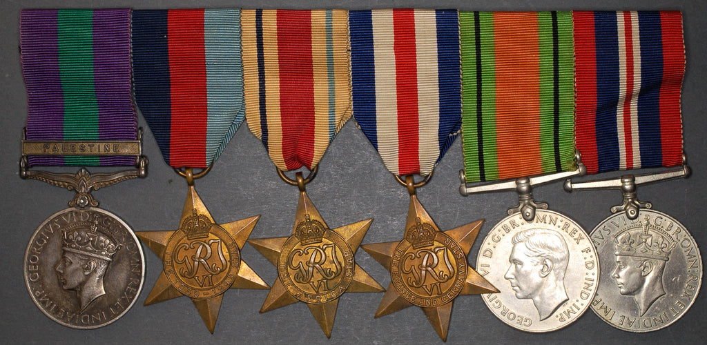 WW2 campaign group of 6. Malin. Essex Regiment