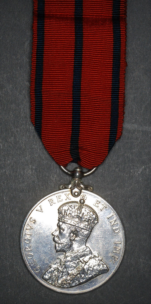 London Fire Brigade coronation medal. 1911
