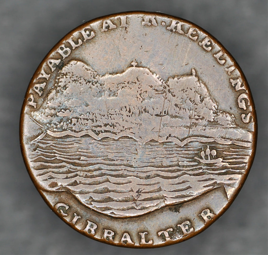 Gibraltar. One Quart. 1802