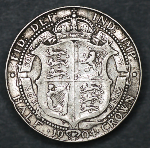 Edward VII. Halfcrown. 1904