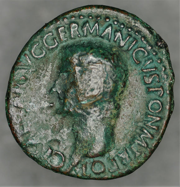 Caligula, AD 37 to 41. Copper As, S-1803