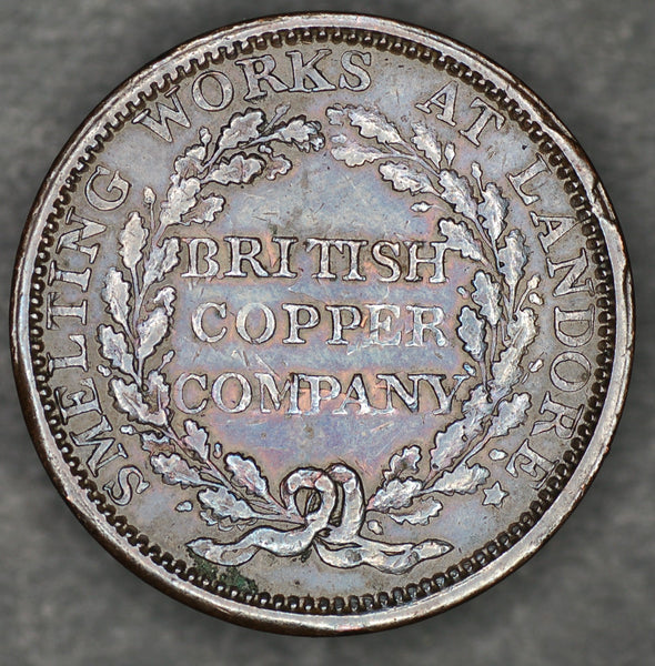 British copper company one penny token. 1813