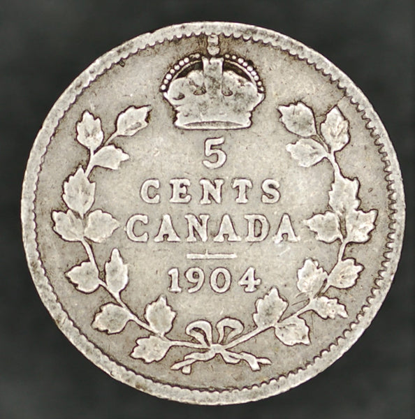 Canada. 5 Cents. 1904