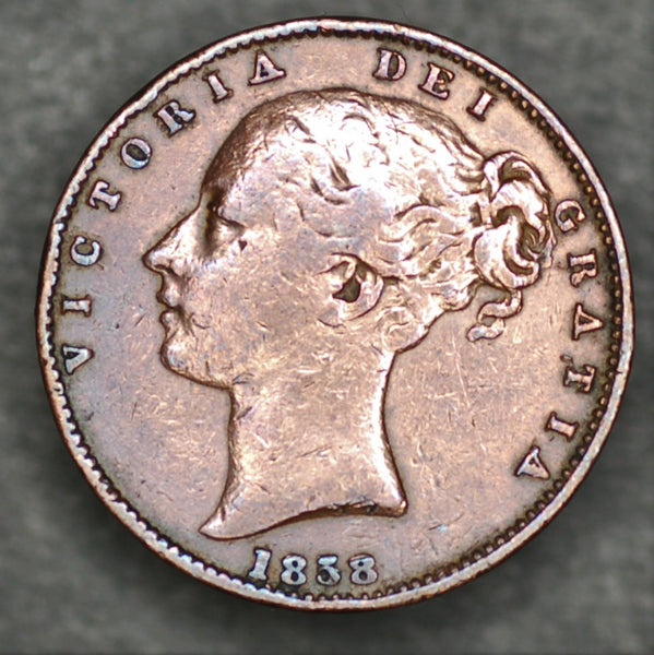 Victoria. Farthing. 1838