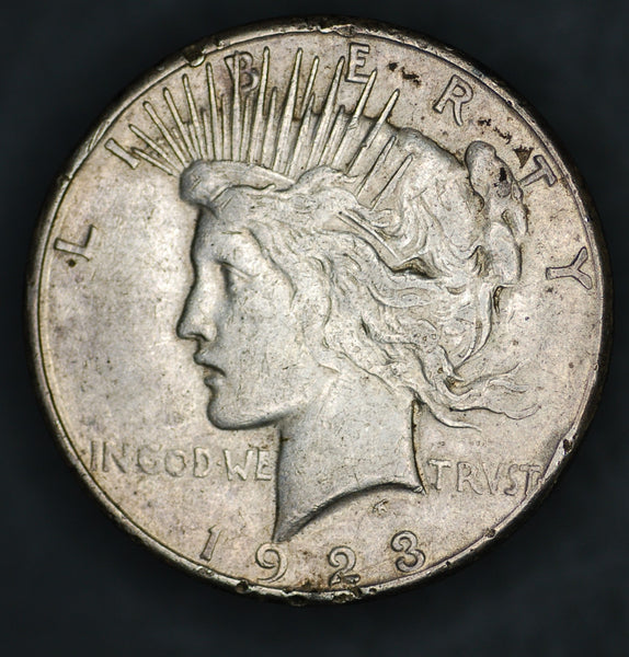 USA. Peace Dollar. 1923S