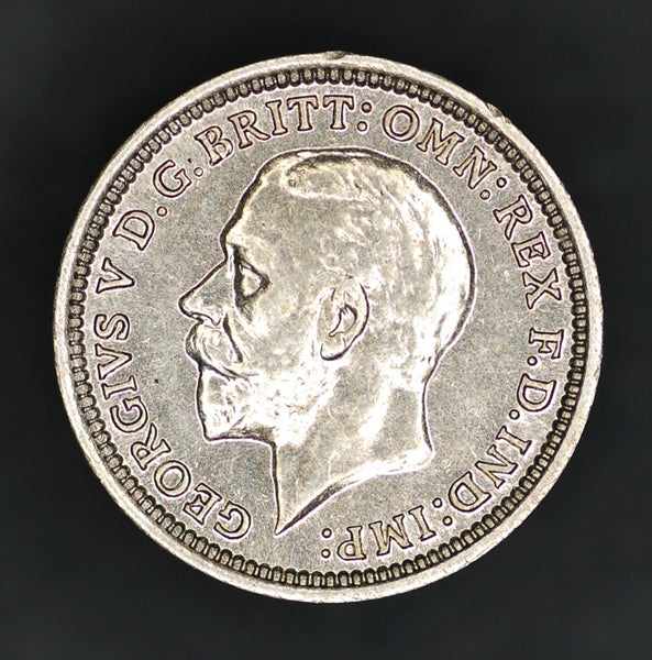George V. Threepence. 1936