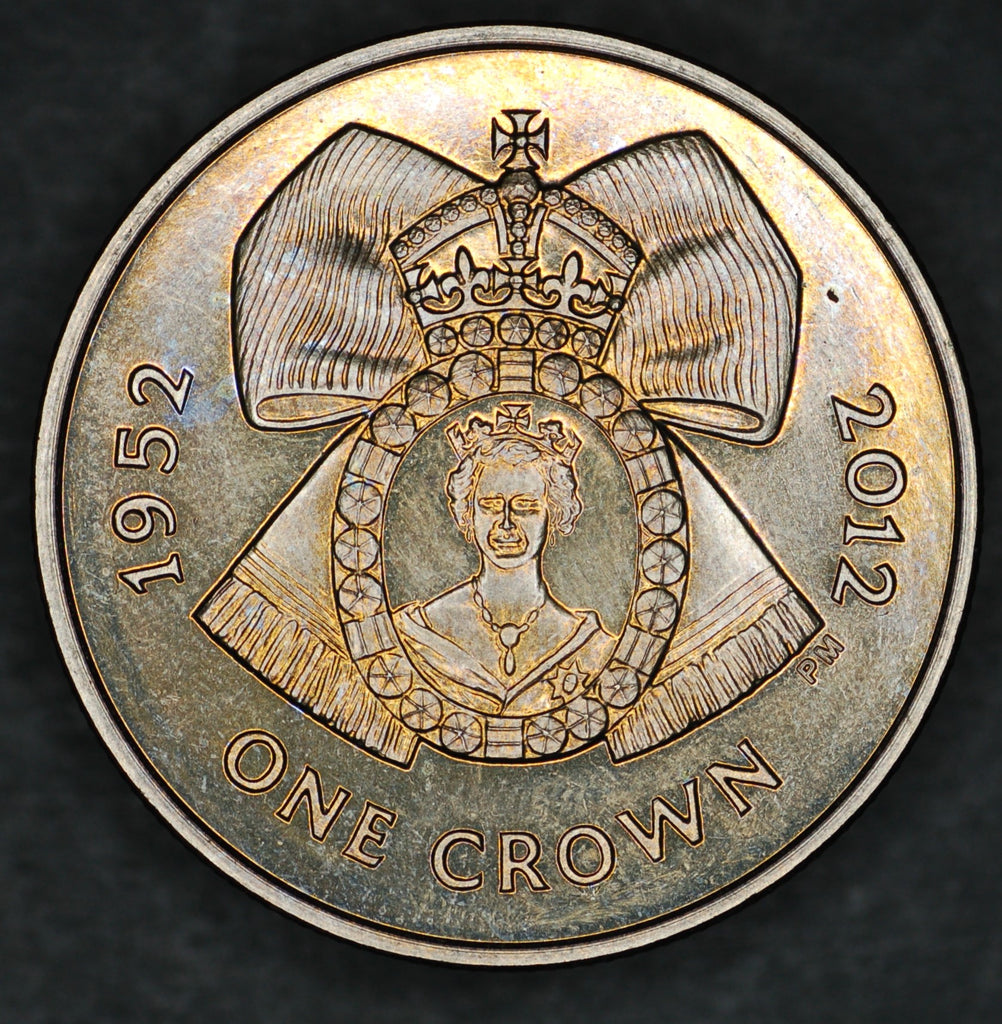 Ascension Island. Crown. 2012