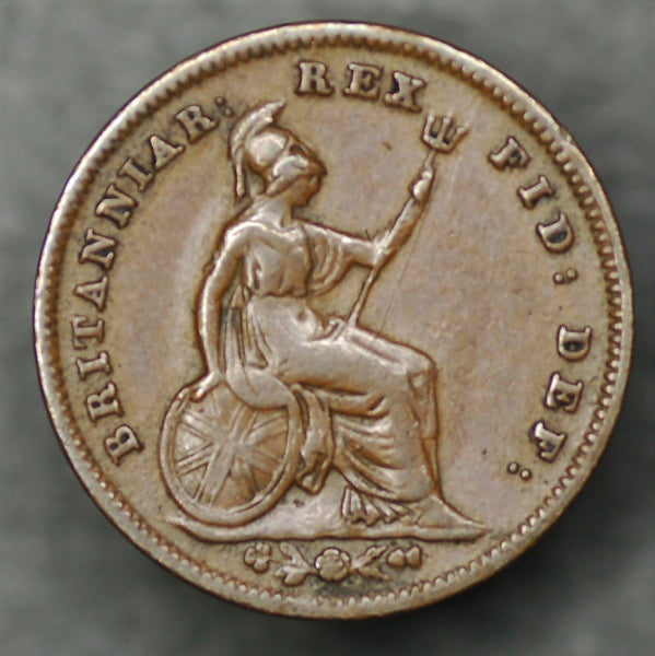 William IV. Third farthing. 1835