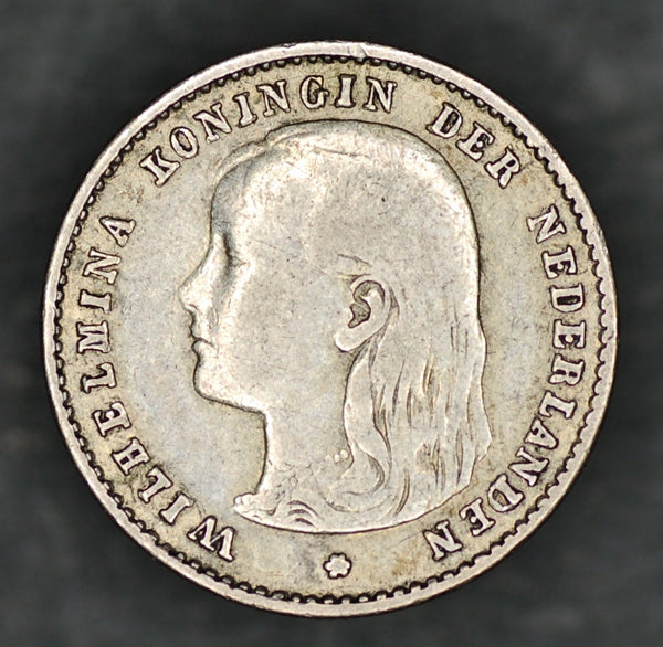 Netherlands. 10 cents. 1897
