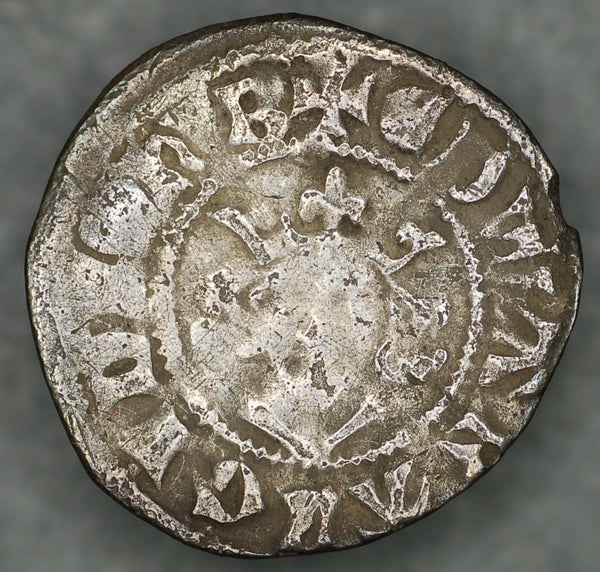Edward 1. Penny. Bury mint. 1272-1307