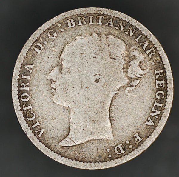 Victoria. (Young head) Threepence. 1887