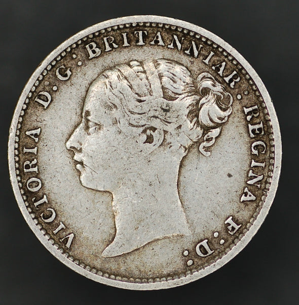 Victoria. (Young head) Threepence. 1885