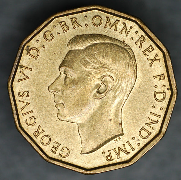 George VI. Threepence. 1942