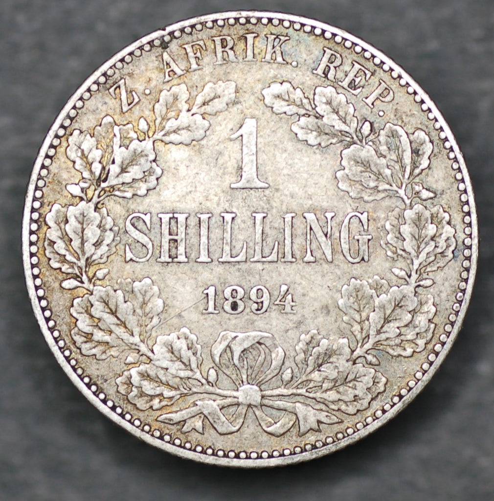 South Africa. Shilling. 1894