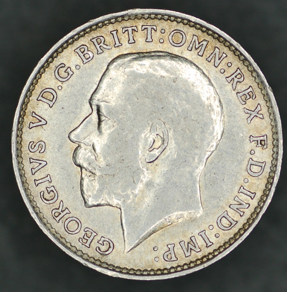 George V. Threepence. 1911