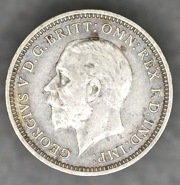 George V. Threepence. 1934