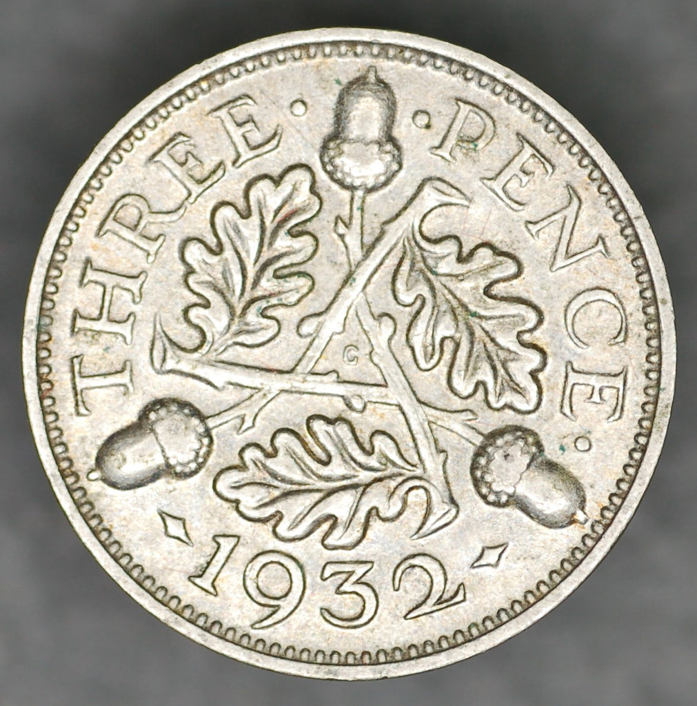 George V. Threepence. 1932
