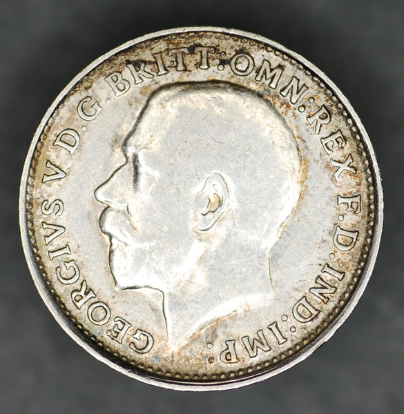 George V. Threepence. 1915