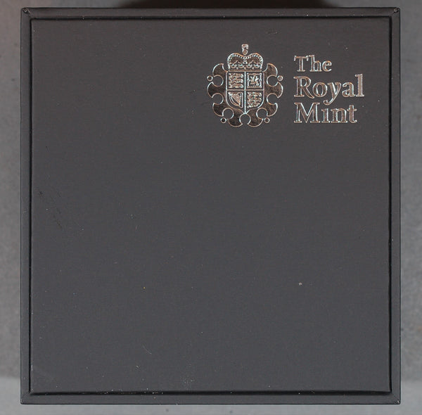 Elizabeth II. Proof silver 5 pounds. 60th anniversary of the coronation. 2013