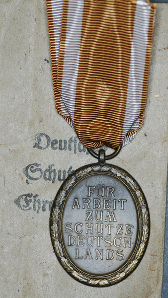 Germany. WW2. West Wall medal