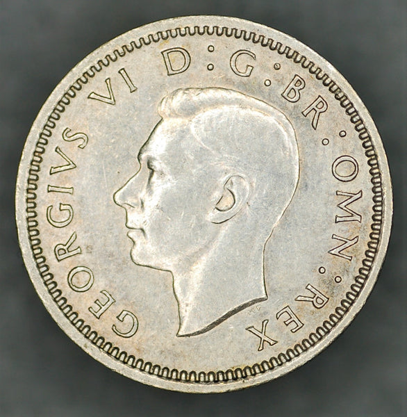 George VI. Threepence. 1944