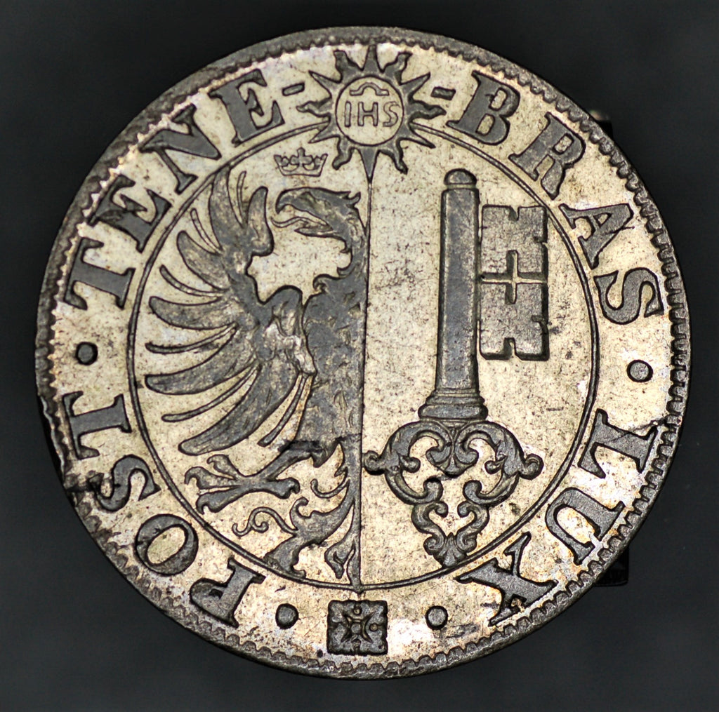 Switzerland. Geneva. 25 Centimes. 1839.