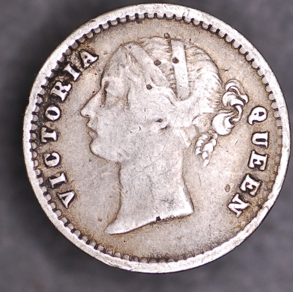 India. British. 2 Annas. 1841