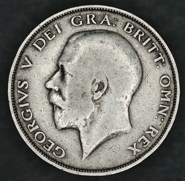 George V. Halfcrown. 1913.