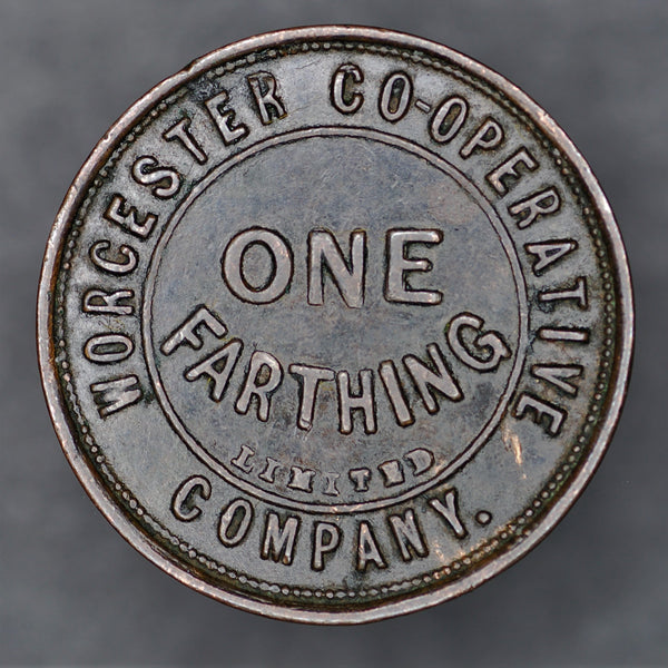 Worcester Co-operative society Farthing