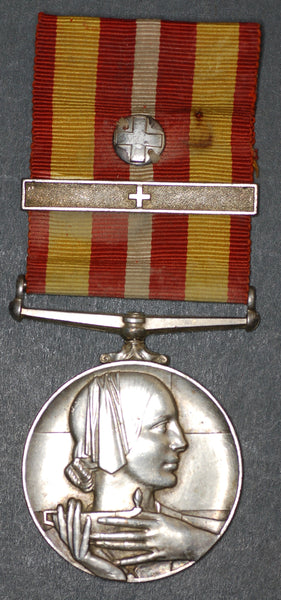 Voluntary medical service medal. British red cross.