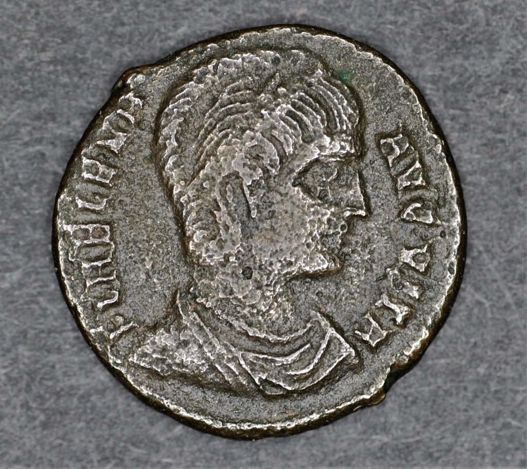 Helena, mother of Constantine. Follis. 327-328AD