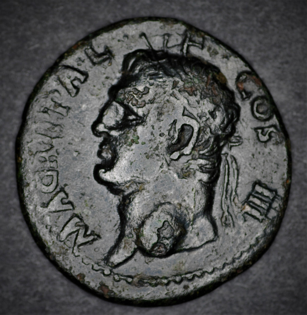 Agrippa, Struck under Caligula. AD37-41