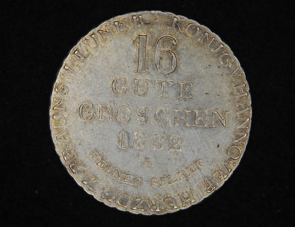 Germany. 16 Groschen. 1832A.