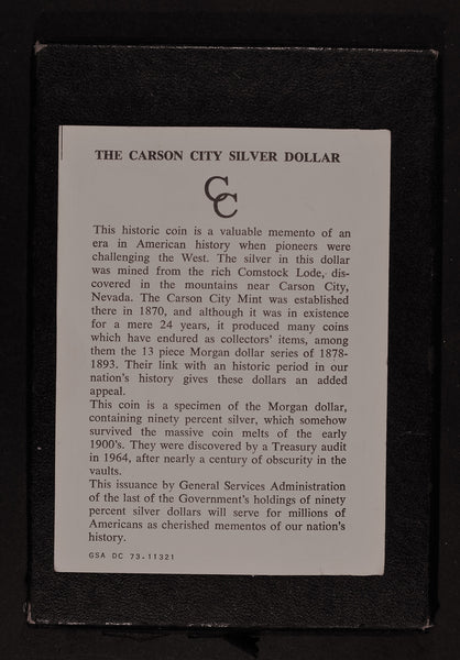 USA. Dollar. 1884 Carson City.