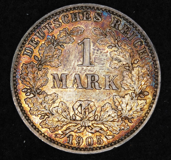 Germany. 1 Mark. 1905E