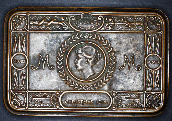 Princess Marys Gift Tin. Christmas 1914