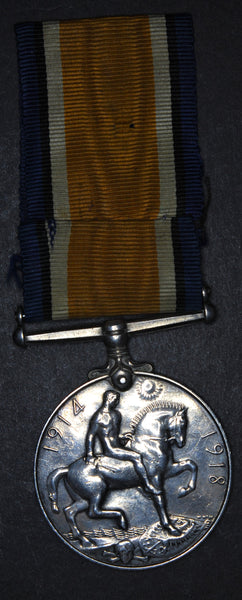 WW1. 1914-1918 British War Medal. Royal Air Force.