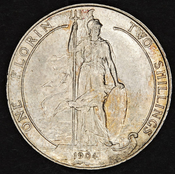 Edward VII. Two shillings. 1904