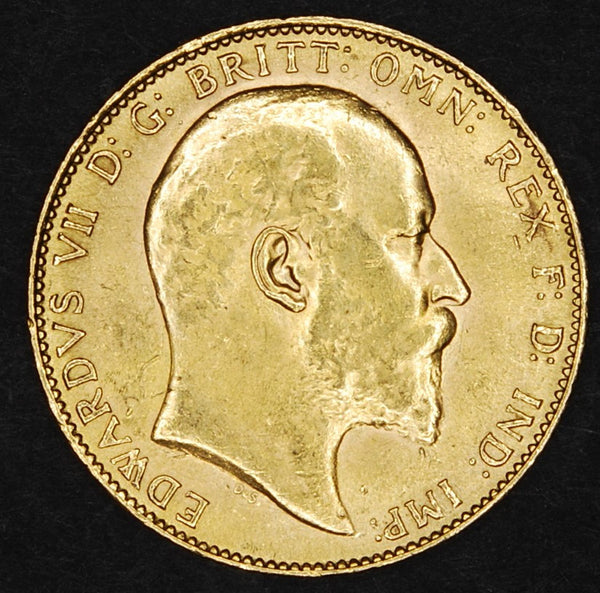 Edward VII. Sovereign. 1910