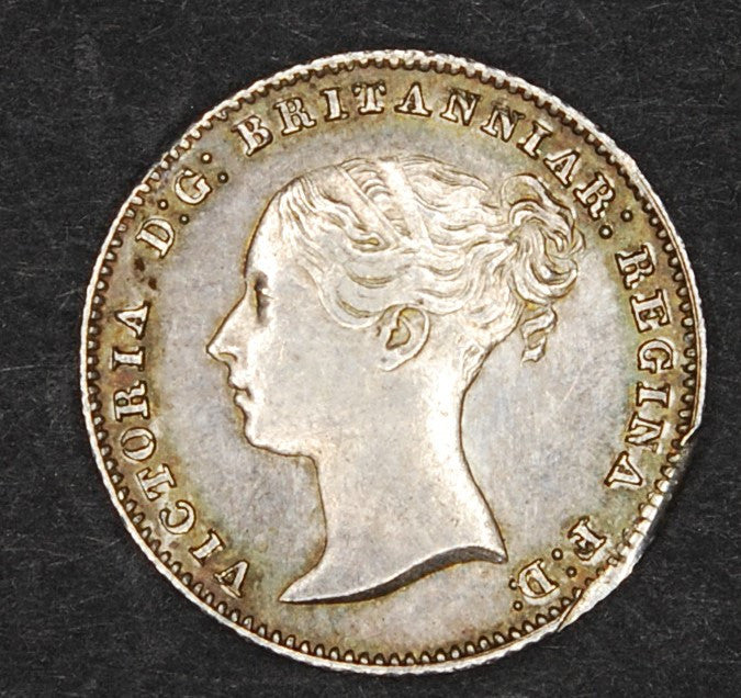 Victoria. Fourpence. 1855