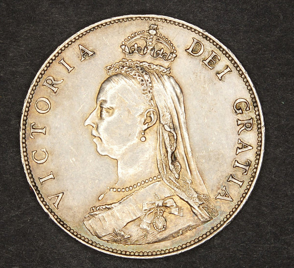 Victoria. Two shillings. 1887.