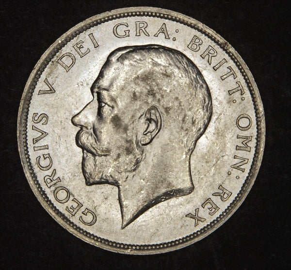 George V. Halfcrown. 1915
