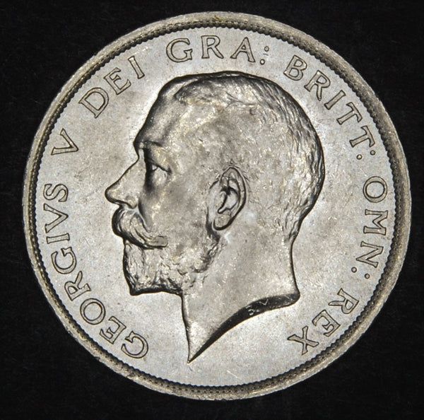 George V. Halfcrown. 1916