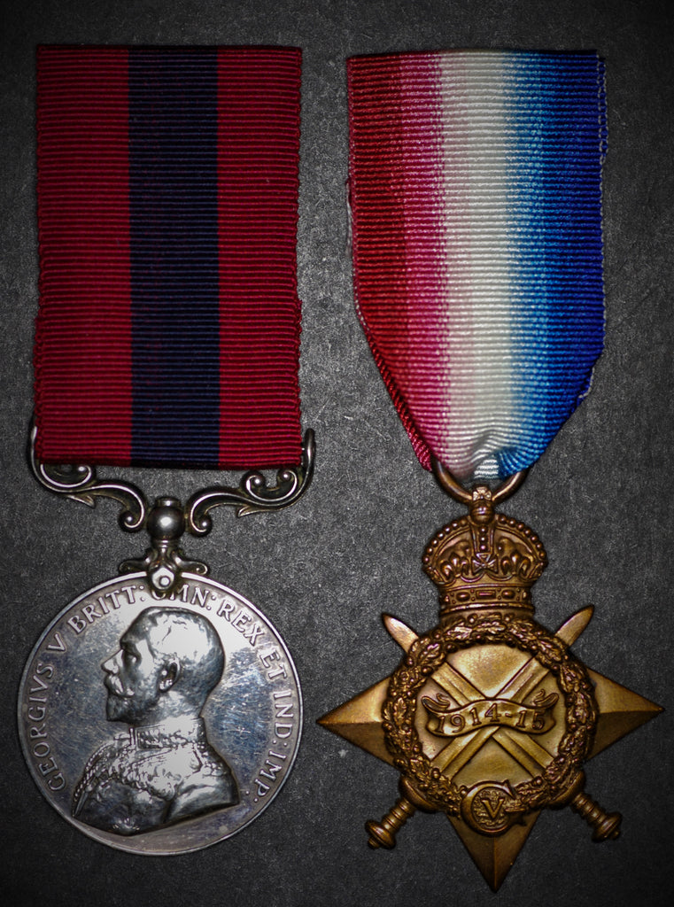 Western Front Distinguished Conduct Medal. Killed in action. William Liggins.