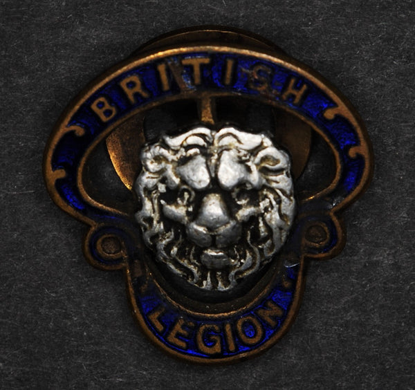 Vintage British Legion button badge