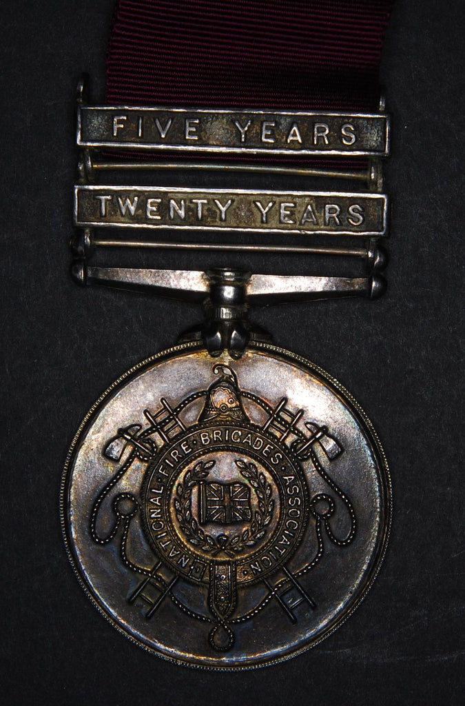 Fire service silver medal
