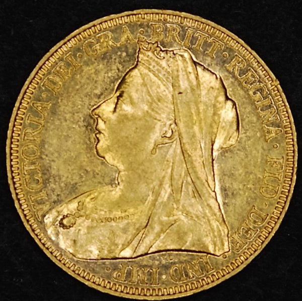 Victoria. Sovereign. 1896.