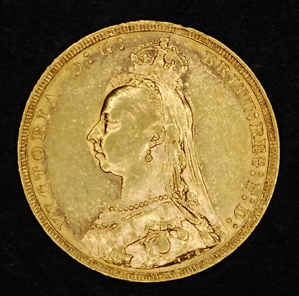 Victoria. Sovereign. 1890.